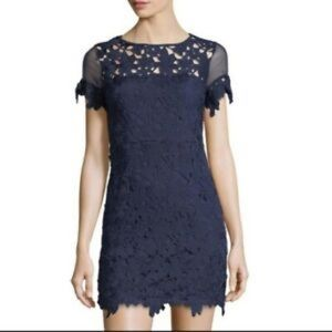 Romeo & Juliet Couture Lace Sheath Dress
